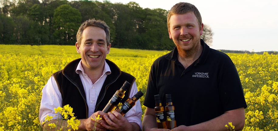 OIL ABOARD! EAST YORKSHIRE SMOKEHOUSE TEAMS UP WITH TOP RAPESEED OIL PRODUCER TO CREATE A TRULY SMOKIN' OIL