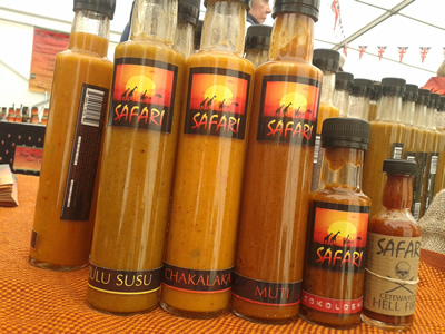 Streetzine gets Wild n Saucy with Safari Event Catering